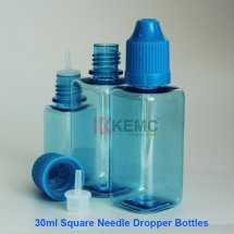 30ml Square ejuice dropper bottles with childproof thinner eyedropper for E-liquid/e-juice/Eye oil