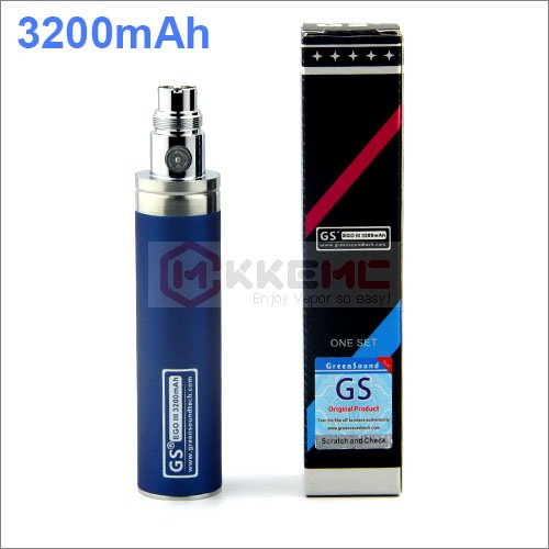 Blue-GS EGO II 3200mah Battery for CE4 CE5 CE6 aspire Nautilus Mini Tank