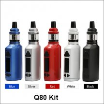 Q80 kit 80W Huge Vapor E-cigarette Kits With LED Display