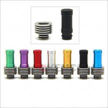 Stainless 510 drip Tips with heat sink for RBA./RDA Atomizer with removable drip tip 510 style