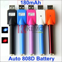 180mAh Auto 808D Battery with Wireless USB Charger for KR808D-1 eCigarettes Auto KR808D battery