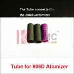 Replaceable Tube for 808D atomizer match 808d-1 cartomizer Electronic Cigarettes