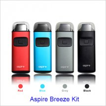 Wholesale E-Cigarette Aspire Breeze kit 650mah vape pen e-Cigarette