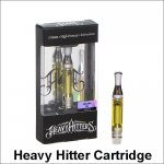 Heavy Hitter CBD Cartridges 510 Thread Ceramic Coil Thick Oil AC1003 Cartridge Atomizer