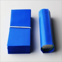 Blue-18650 Shrink wrap PVC Heat insulation Re-wrapping tubing for 18650 series battery