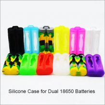 18650 Battery Silicone wear silicone protective case sleeve for 18650 Batteries