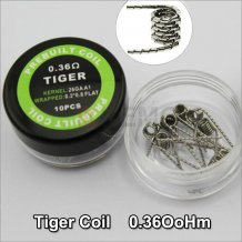 Tiger Coils Heating Resistance wire for DIY RDA RBA Prebuilt Atomizer Fast heating