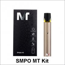 Authentic SMPO MT Vape pen starter kit 420mAh with 1.7ml Juice Pod