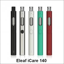 Eleaf iCare 140 vape pen starter kit with 650mah battery and 2ml e-liquid capacity