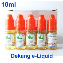 Menthol-100% Original 10ml Dekang e-liquid Wholesale for eCigarettes China