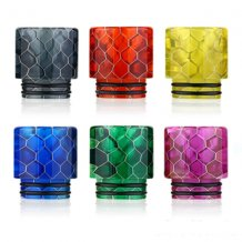 Snakeskin Resin 810 Drip Tips 6 Colors