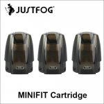 100% Original Justfog MINIFIT Pod Cartridge 1.5ml Mini Fit Pods With 1.6Ohm Coil For MINIFIT Compack Kit
