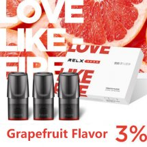 Grapefruit Flavor Relx Cartridges 3pcs / Pack - 3% Nicotine