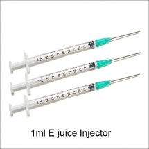 1ml E-juice Injector for adding electronic liquid to e-cigarette