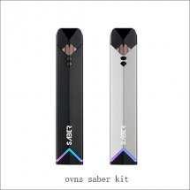 Origianl ovns saber kit Portable E Cigarette Kits with 400mAh Battery 1.8ml Cartridges