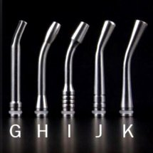 Long curved 510 drip Tips From G to K 5 Types