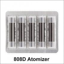 No flavor 808D atomizer for ploome tech electronic cigarette refillable 808d atomizer 5pcs/set