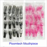 Long Type Silicone Drip Tip Mouthpiece Cover for Test Ploomtech E Cigarette