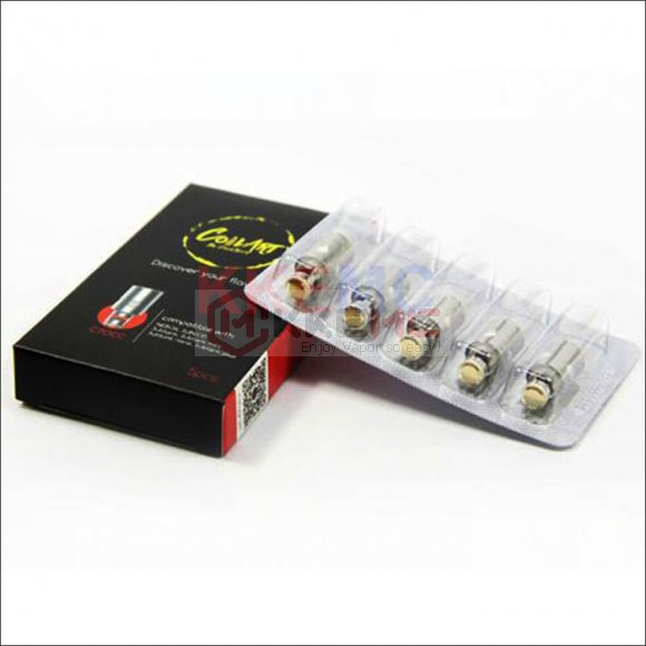 100% Original KangerTech Coilart CTOCC Coils for Subtank Topbox Mini ecigarettes Replacement Ceramic Coils(5pcs)