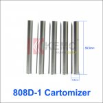Stainless 808D-1 Cartomizer for KR808d-1 battery DSE901 E-cigarette Disposable 808d-1 Atomizer(1pcs)
