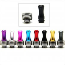 Colorful Stainless 510 drip Tips with heat sink for Diy Atomizer with removable drip tip 510 style