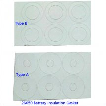 26650 lithium battery insulation mat | 26700 insulation electrode gasket China wholesale