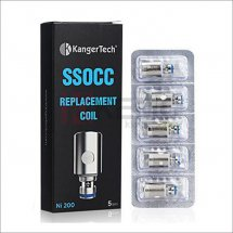 100% Original Kanger Upgraded 0.15ohm Ni200 SSOCC Coils for Nebox & Topbox & Subvod & Subtank series(5pcs)