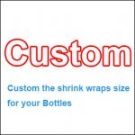 Special Customizer shrink film for your plastic or glass bottles