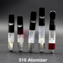 510 Atomizer for 180mAh or 280mAh 510 battery E-cigarette 0.3ml 0.4ml 0.5ml 1ml 510 Clear atomizer