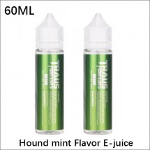 Hound E-Juice oil 100% Original 60ml Mint Flavor E-juice oil for E-cigarette Atomizer