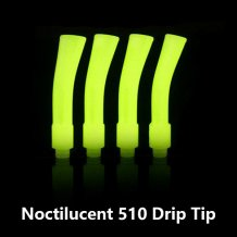 Noctilucent Long 510 Drip Tip Plastic Flat Mouthpiece Luminous in the Dark