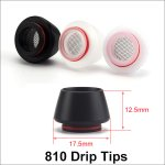 Anti-frying Oil 810 Drip Tips 3 Colors
