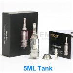 5ml 100% Authentice Aspire Nautilus BVC Glass Clearomizers Adjustable Airflow Bigger Nautilus Tank System