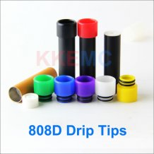 Colorful 808d drip Tip for 808d cartomizer e-Cigarettes small drip tips