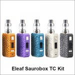 Eleaf Saurobox TC Kit with dual 18650 batteries