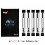 510 Thread Yocan Hive Atomizer Glass Tank Thick Oil Cartridge for Hive 2.0 kit