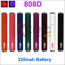 220mAh KR808D-1 battery for kr808d-1 DSE901 Electronic cigarettes Auto mini 808D-1 Battery