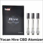 510 Thread Yocan Hive CBD Atomizer Glass Tank Thick Oil Cartridge for Hive 2.0 kit