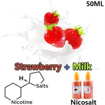 50ml Dekang Strawberry Milk Nicotine Salt E-juice e-liquid
