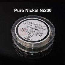 Pure Nickel Ni200 Wire for DIY RDA RBA Huge Vapor Atomizer Fast heating