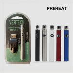 350mah preheat type 510 cbd vape pen battery with USB charger