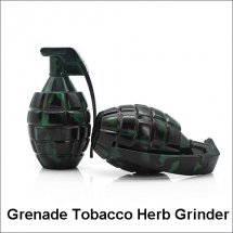 75*40MM 3 Layers Zicn Alloy Grenade Tobacco Herb Grinder for Tobacco Herb Smoking