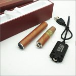 1500 Puffs E-Cigar Chargeable E Cigarette Cigar Kit 1100mAh battery and 2.5mL atomizer