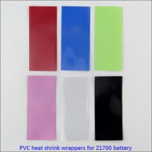 21700 battery Heat Shrink film PVC heat shrinkable wrappers