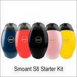 Smoant S8 Pod Starter Kit with 2ml Cartridge Portable Pod 370mah Battery Vape Kits