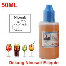 Drink Flavor 50ml Dekang Nicosalt Eliquid | Nicotine Salts Ejuice China