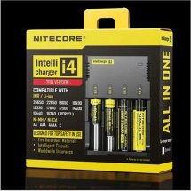 Original NITECORE i4 charger Universal Intelligent Charger For 18350 18650 18500 Li-ion & Ni-MH battery