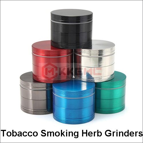 Tobacco Smoking Herb Grinders 4 Part 50mm zinc alloy herb grinder for tobacco herbal smoking grinders wholesale
