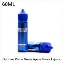 Optimus Prime E-juice 100% Original 60ml Green Apple Flavor E-Liquid for E-cigarette Atomizer