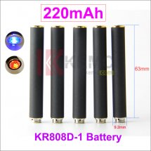 Grey 220mAh AUTO KR808D-1 battery for Kanger 808d-1 DSE901 E-cigarettes 220mah KR808D Battery